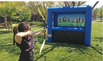 archery inflatable