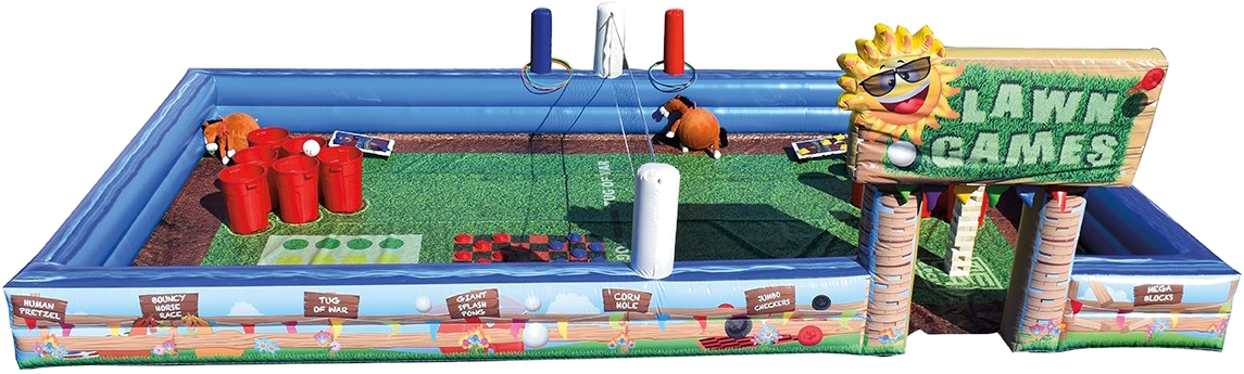 lawn games inflatable