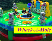 whack a mole inflatable bounce house
