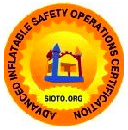 sioto logo for bounce world certification of safety