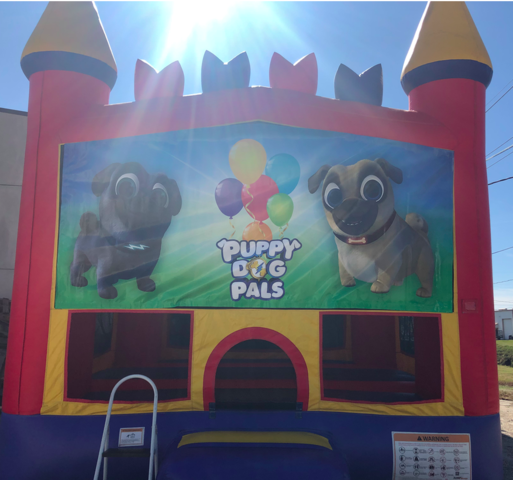 Puppy Dog Pals bounce house