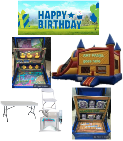 Backyard Party Combo Package