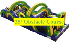 Mardi Gras Run (35' Obstacle Course)