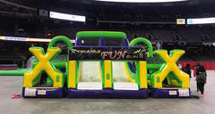 Mardi Gras Challenger (70' Obstacle Course)