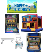 Backyard Party Bounce Package