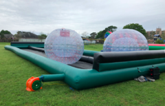 Zorb Balls with straight track