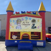 Communion bounce house