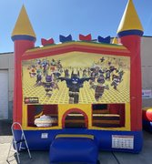 Lego Batman bounce house
