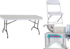 Table, Chair, Sno Ball Package