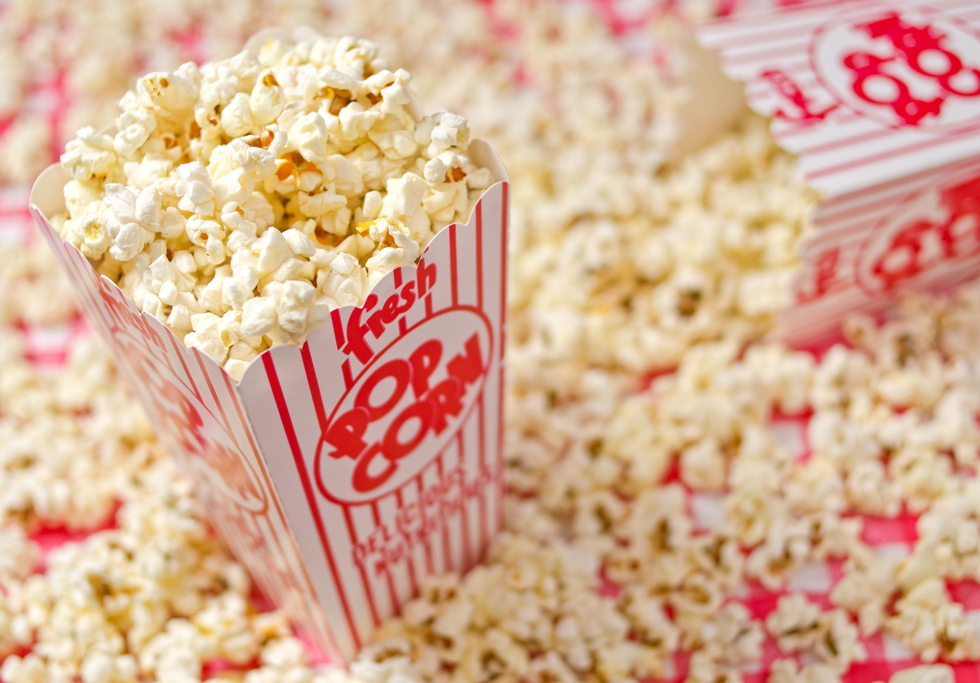 Yummy buttery popcorn