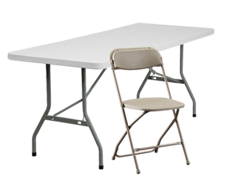 Tables Chairs and Covers Rentals