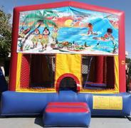 Hawaiian Bounce House