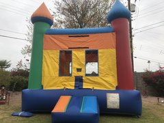 Rainbow Bounce Castle