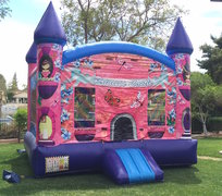 <b><font color=red><b>Princess Castle Deluxe with Basketball Hoop</font><br><small>Best for ages 2+<br> <font color=blue>Space Needed 17 L x 17 W x 17 H</font></b></small>