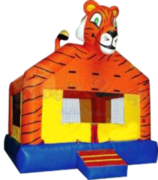 Tiger Bounce House Deluxe