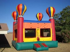 Hot Air Balloon Bounce House Deluxe