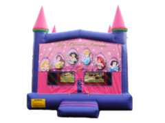 Disney Princess Bounce Castle- Deluxe