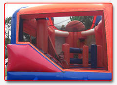 Add wet rental-20 Ft Slides