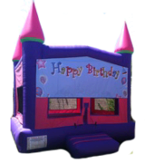 Happy Birthday Bounce Castle Deluxe