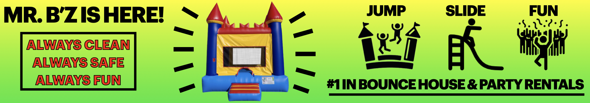 #1Bounce House Rentals