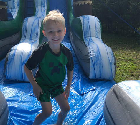 Bounce House with Slide Rentals S