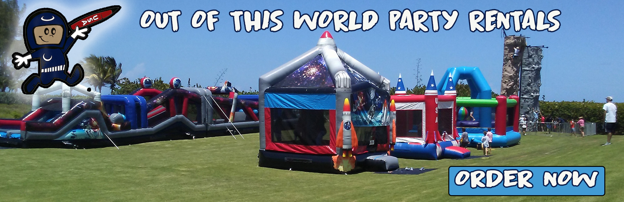 Call The Moon Man Bounce House And Water Slide Rentals Vero Beach