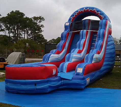 Water Slide Rentals Fellsmere From Call The Moon Man