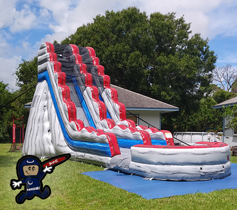Water Slide Rentals Vero Beach from Call The Moon Man
