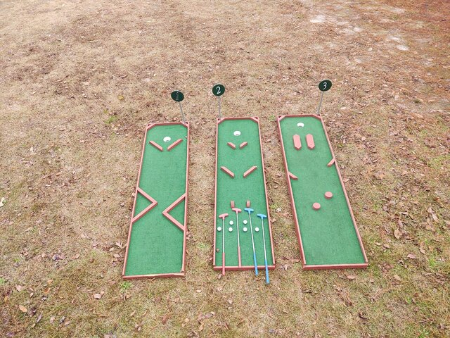Portable Mini Golf Rental near Pinehurst NC