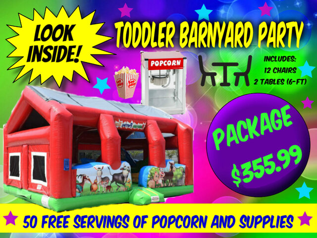 Toddler Barnyard Party Package