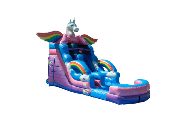Unicorn Water Slide Rental 16ft