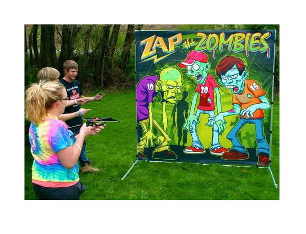 Zap the Zombies makes a great fall festival or Halloween party rental