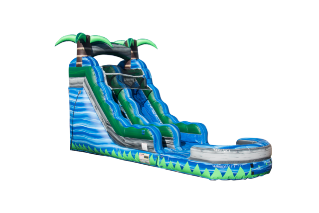 Blue Water Slide Rental