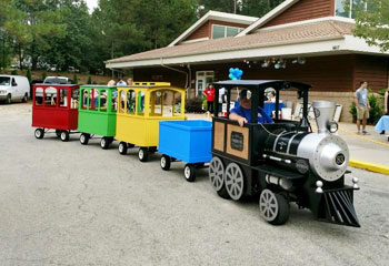 Trackless Train Rentals from Carolina Fun Factory