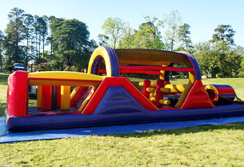 Inflatable Obstacle Course Rental from Carolina Fun Factory