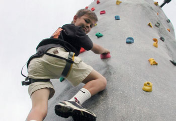 Rock Climbing Wall Rental from Carolina Fun Factory