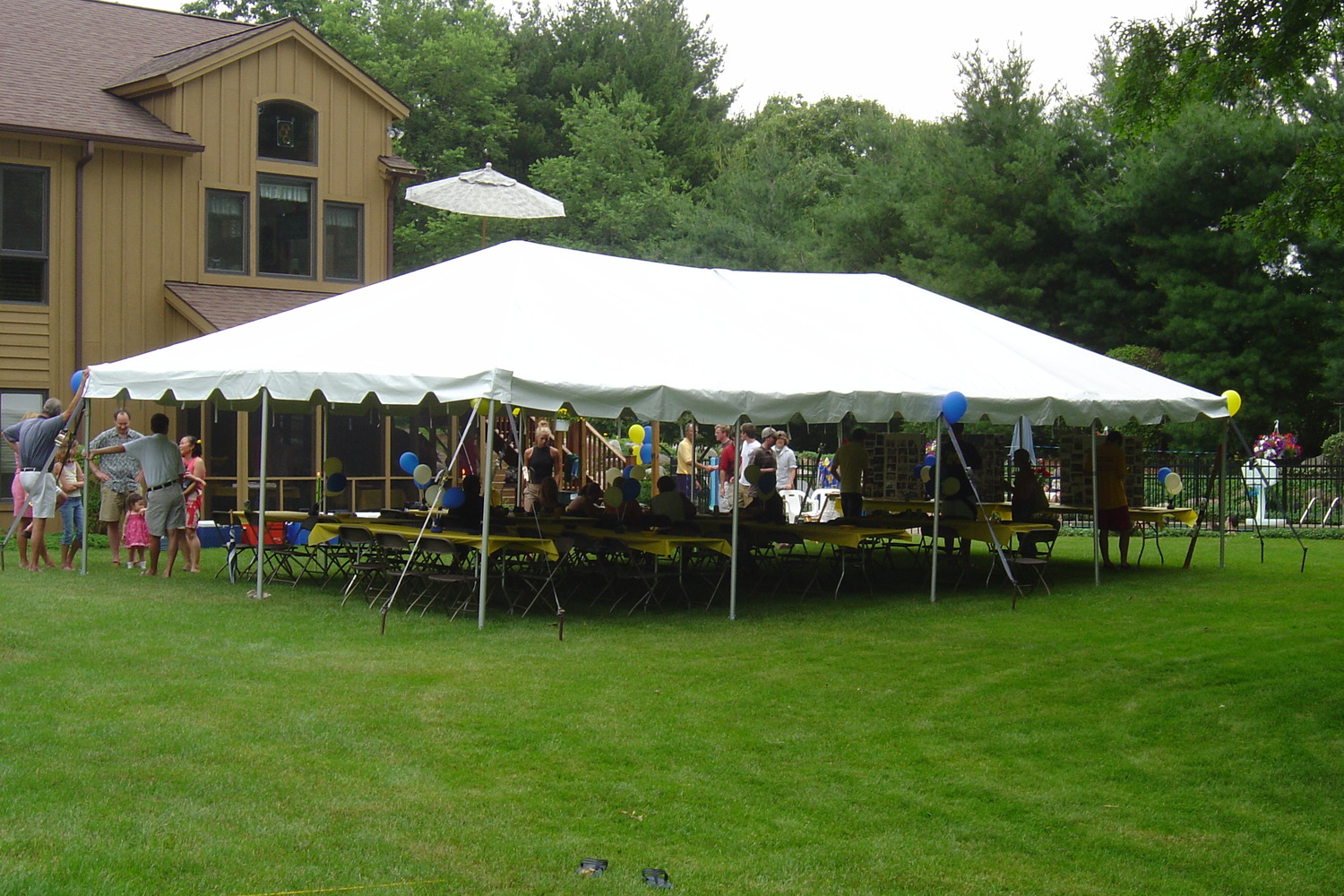 20x40 Party Tent Rental