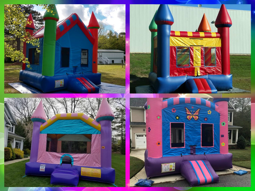 Choose from one of our exciting basic jumper bounce castles to build your Bounce House Party Package