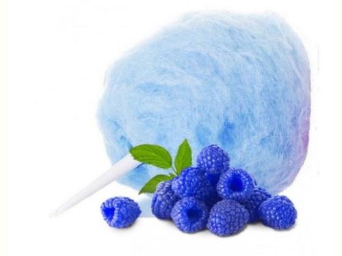 Blue Raspberry Cotton Candy Sugar Floss