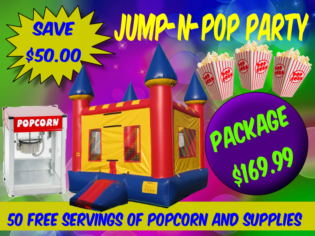 Jump-N-Pop-Bounce-House-Popcorn-Party-Rental