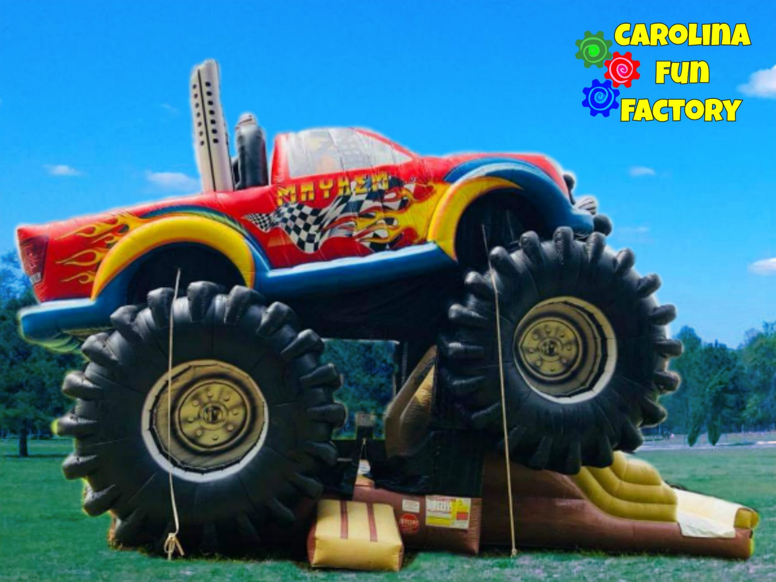 Mayhem Monster Truck Bounce House Rental