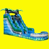 Blue Crush Water Slide Rental 15ft