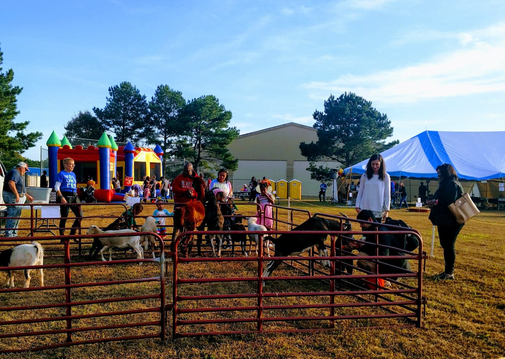 Click HERE to learn more about Raleigh Petting Zoo Rentals
