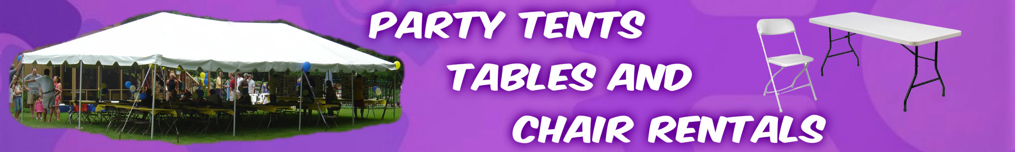 Party Tents Tables Chairs