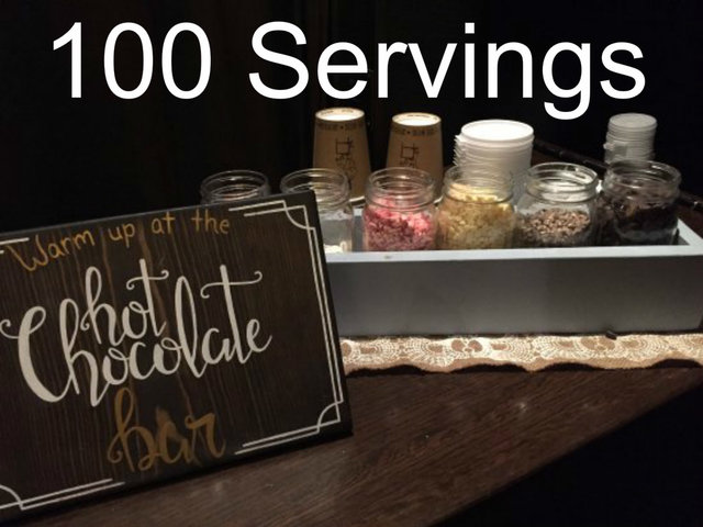 Hot Chocolate Bar - 100 servings