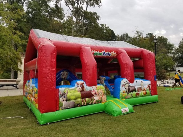 Barnyard Petting Zoo Toddler Bounce