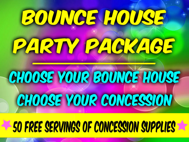 Create Your Own Bounce House Party Package