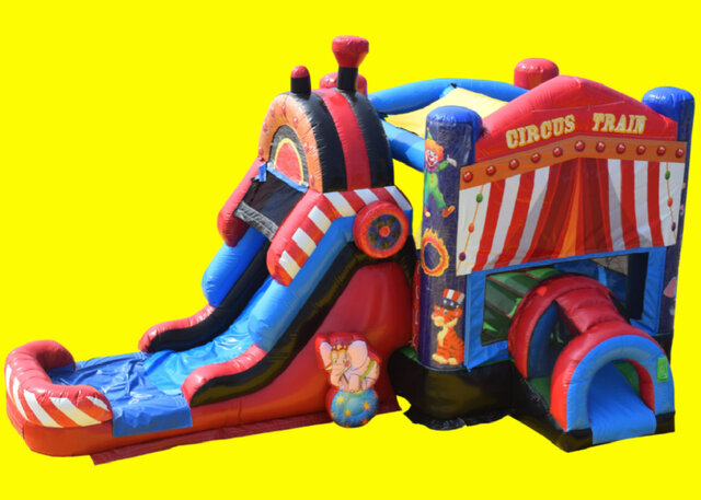 Circus Train Bounce And Slide DRY