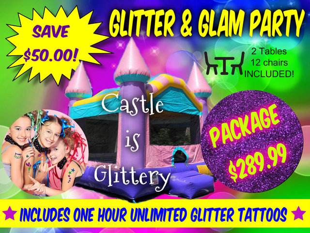 Glitter & Glam Party Package