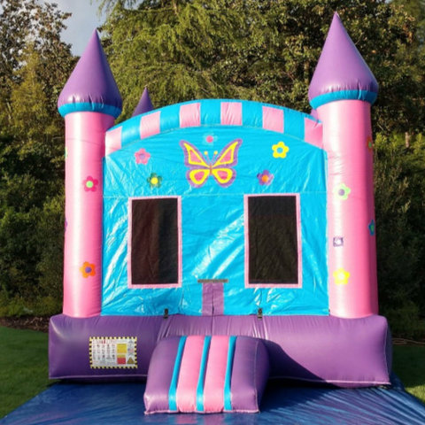 Butterfly Garden Bounce Castle